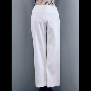 MAG By Magaschoni White Cropped White Pants